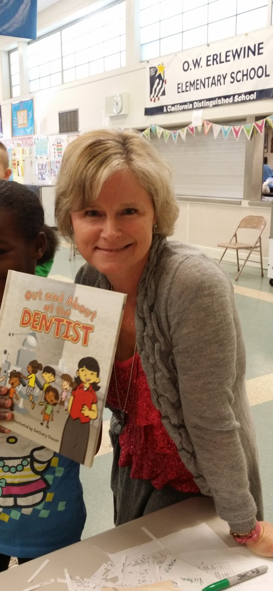 Author Visit, O.W. Erlewine Elementary, Sacramento CA Feb 2014