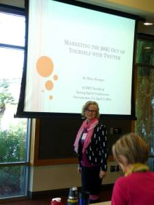 Presenting at SCBWI Conference, April 2014