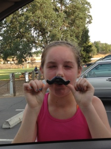 I mustache you for candy
